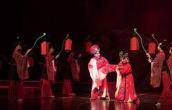 """bind het huwelijks- knoop-verslag van Zuidelijke boeg-Jiangxi opera""""four dromen van linchuan† Royalty-vrije Stock Foto's"""