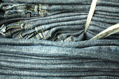Binded Jeans Stock Photos