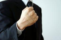 bindemedel applicerar nävemurbruk Royaltyfri Foto