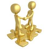 Bindend contract Royalty-vrije Stock Fotografie