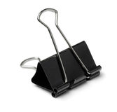 Binder clip Royalty Free Stock Photography