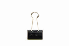 Binder CLIP Isolated on White Background Royalty Free Stock Image