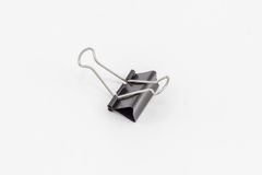 A binder clip. Royalty Free Stock Photo