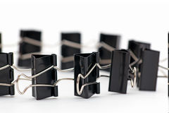 Binder clips Stock Photography