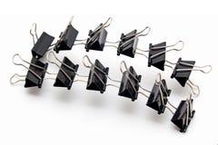 Binder clips Stock Photos