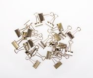 Binder Clips Royalty Free Stock Images