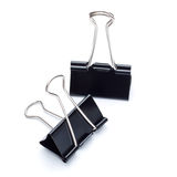 Binder Clips Royalty Free Stock Photography