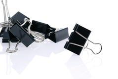 Binder clips Stock Photo