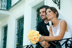 binder crystal smycken för parcravaten bröllop Royaltyfri Foto
