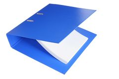 Binder Folder Stock Images