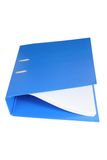 Binder Folder Stock Photo