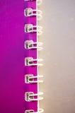 Binder rings Royalty Free Stock Photo