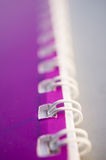 Binder rings Stock Photography