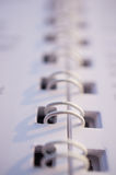 Binder rings Stock Images