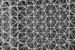 Binder-Strukturmuster des Hexagons rostfreies lizenzfreie stockbilder