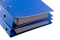 Binder8 Royalty Free Stock Photography