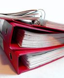 Binders Stock Photo
