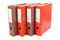 Binders Royalty Free Stock Image