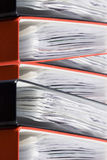 Binders Stock Image