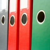 Binders. Closeup Royalty Free Stock Photos