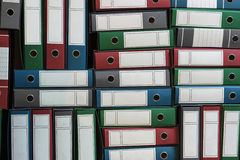 Binders Archive, Ring Binders, Bureaucracy Royalty Free Stock Image