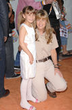 Bindi Irwin, Terri Irwin. Terri Irwin & daughter Bindi Irwin at Nickelodeon's 20th Anniversary Kids' Choice Awards at UCLA's Pauley Pavilion in Los Angeles Stock Images