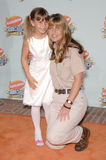Bindi Irwin, Terri Irwin. Terri Irwin & daughter Bindi Irwin at Nickelodeon's 20th Anniversary Kids' Choice Awards at UCLA's Pauley Pavilion in Los Angeles Stock Image