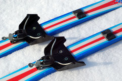 binding система лыжи Стоковая Фотография RF