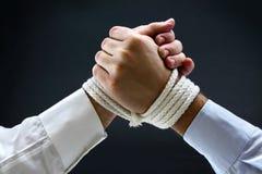 Binding contract royalty free stock image