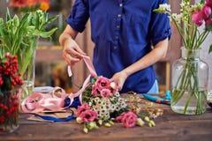 Binding flowers Royalty Free Stock Photos