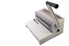 Binding machine Royalty Free Stock Image