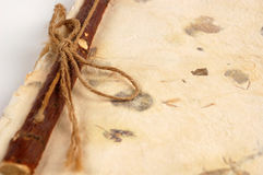 binding scrapbook деревянный Стоковые Фотографии RF