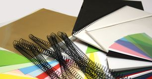 Binding Supplies Royalty Free Stock Photography