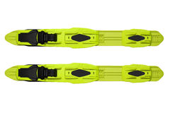 Binding system1. System of binding for racing skis. Type ИИN NIS Stock Photography