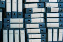 Bindmiddelenarchief, Ring Binders, Bureaucratie royalty-vrije stock fotografie