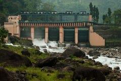 Bindudam - op de Jaldhaka-Rivier, India wordt voortgebouwd dat Royalty-vrije Stock Afbeeldingen