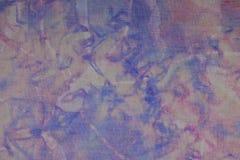 Bindung-Färbungsbatik-Gewebehintergrund Lizenzfreie Stockfotos