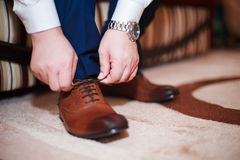 Bindungs-Schuhe Lizenzfreie Stockbilder