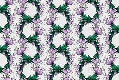 bindweed bezszwowy deseniowy ilustracji