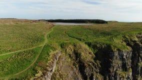 Binenenagh美妙的风景在北部爱尔兰 影视素材