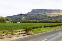 Binevenagh góra, Północna - Ireland zdjęcie royalty free