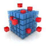 Bing Bang Cube Stock Images