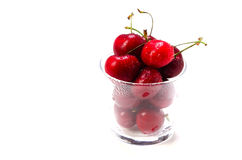 Bing cherry. Cooking ingredient series    bing cherry. for adv etc. of restaurant,grocery,and others Stock Photo