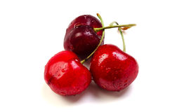 Bing cherry. Cooking ingredient series    bing cherry. for adv etc. of restaurant,grocery,and others Royalty Free Stock Photo