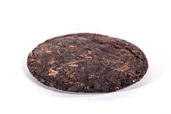 Shu puer tea. Bing of shu puer tea stock photography