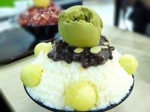Bing su: Korean shaved milk ice Stock Photo