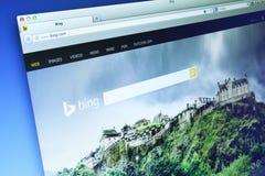 Bing Website stockfotos