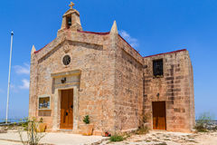 Bingemma Chapel. Dedicated to 'Our lady of Itria' in Malta Stock Photos
