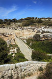 Victoria Lines, Bingemma Gap, . Malta Royalty Free Stock Photos