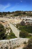 Victoria Lines, Bingemma Gap, . Malta Royalty Free Stock Photos